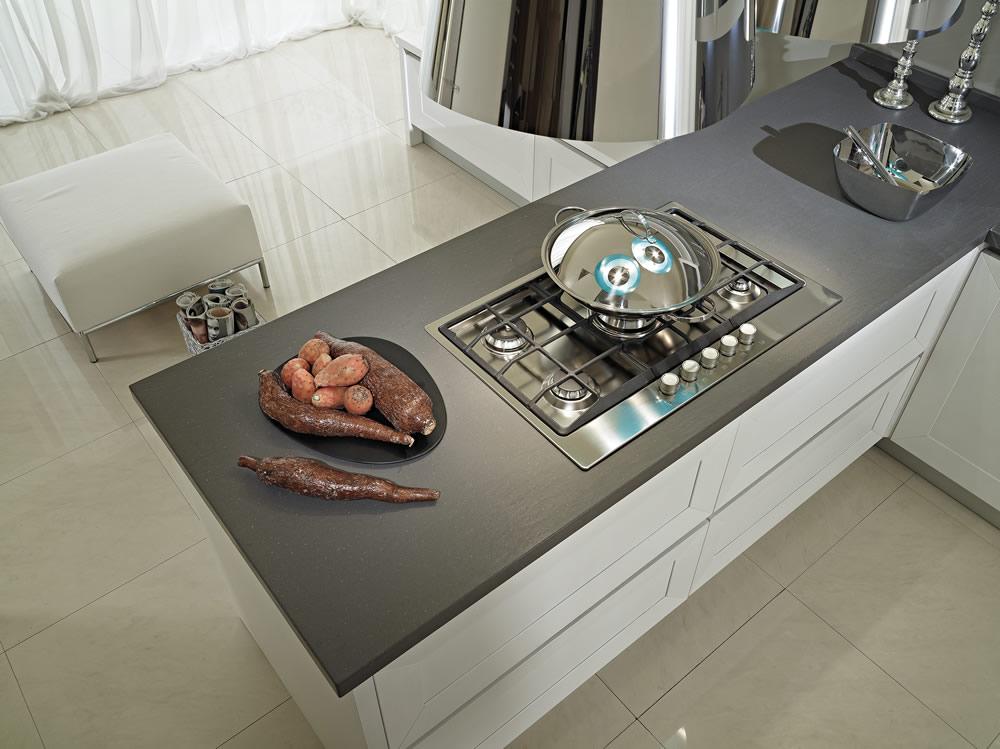 Cucine contemporanee in legno massiccio trendy cucine for Cucine moderne contemporanee