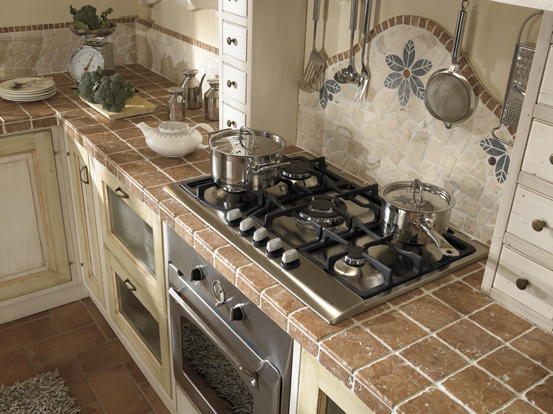 Cucine ARCA Cucine componibili in legno massello cucine in muratura ...