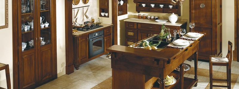 Cucine ARCA Cucine componibili in legno massello cucine in ...