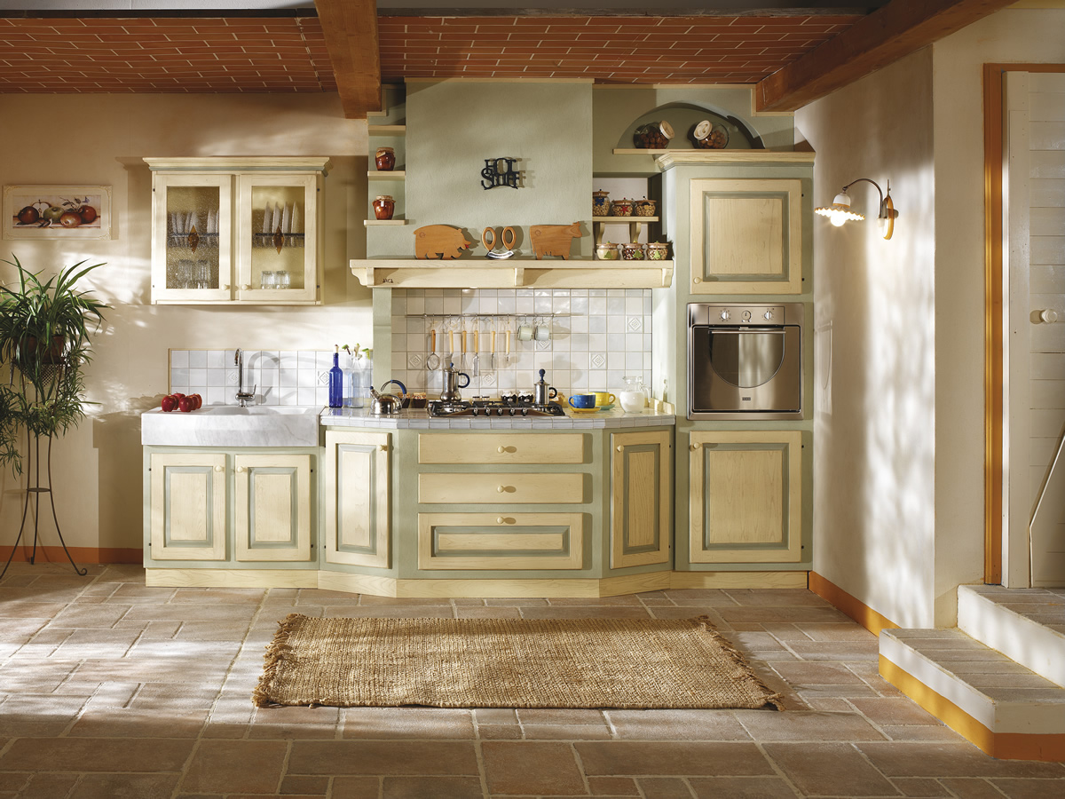 Cucine muratura ARCA cucine componibili in muratura cucine Siena Toscana