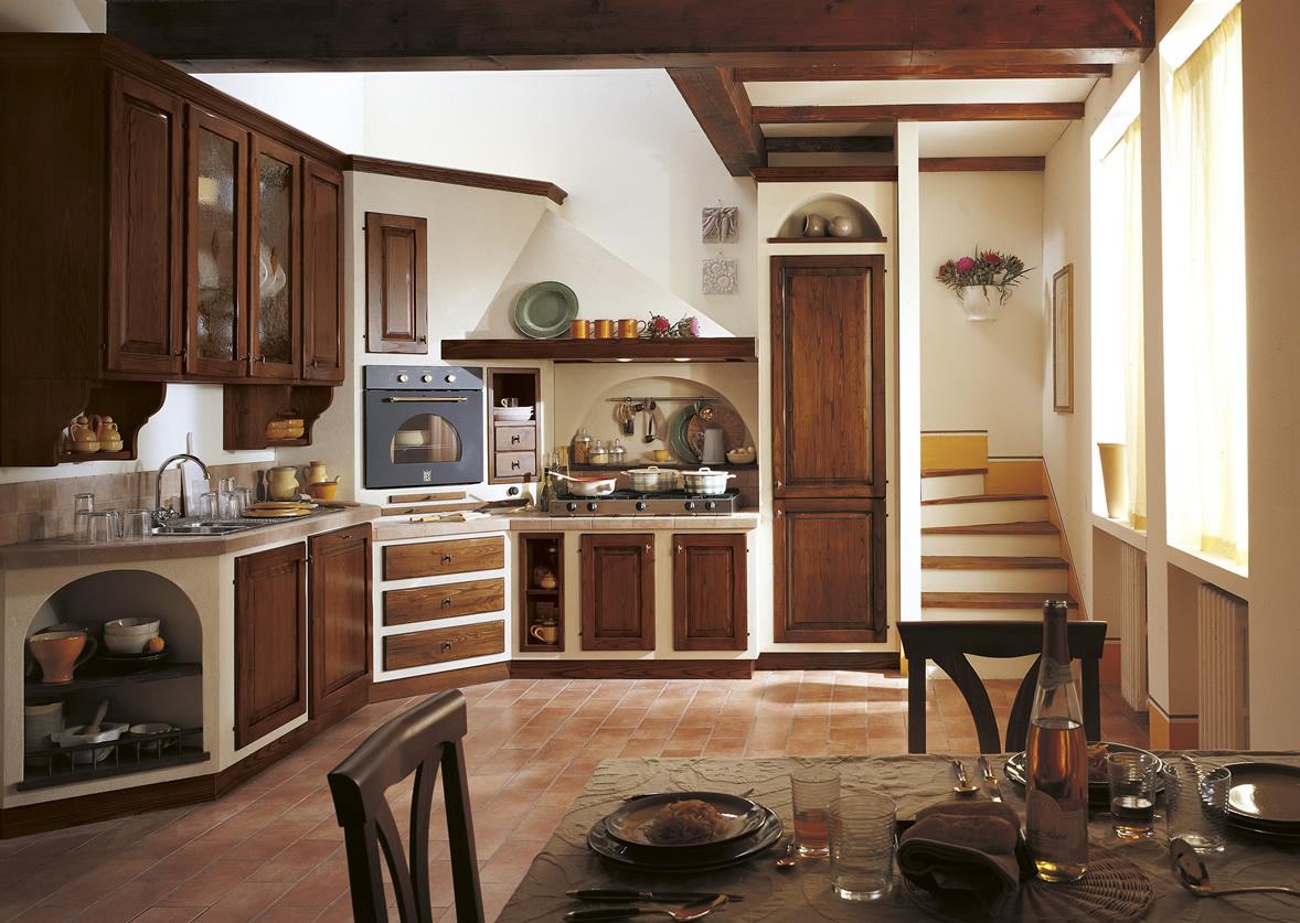 Cucine muratura cucina cucina la rocca cucine componibili - Cucina muratura progetto ...