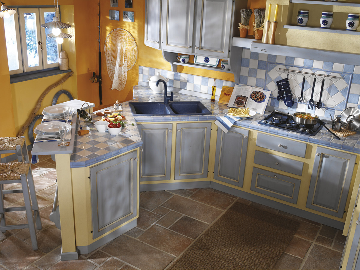 Beautiful cucine muratura toscana gallery home ideas for Arredamenti poggibonsi