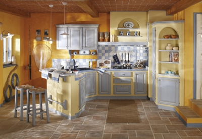 Cucine muratura arca cucine componibili in muratura cucine siena toscana - Cucine classiche in muratura ...