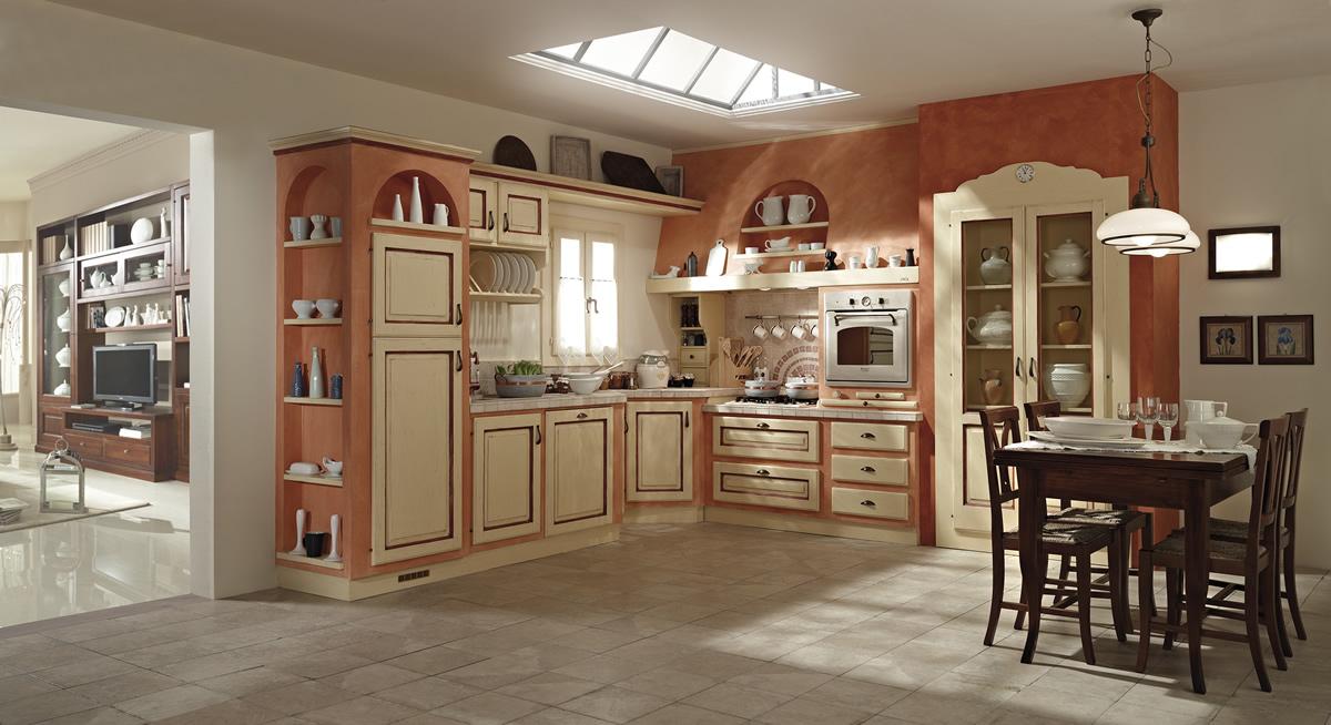 Cucine muratura cucina cucina il chiostro cucine componibili in muratura cucine siena toscana - Cucine classiche in muratura ...