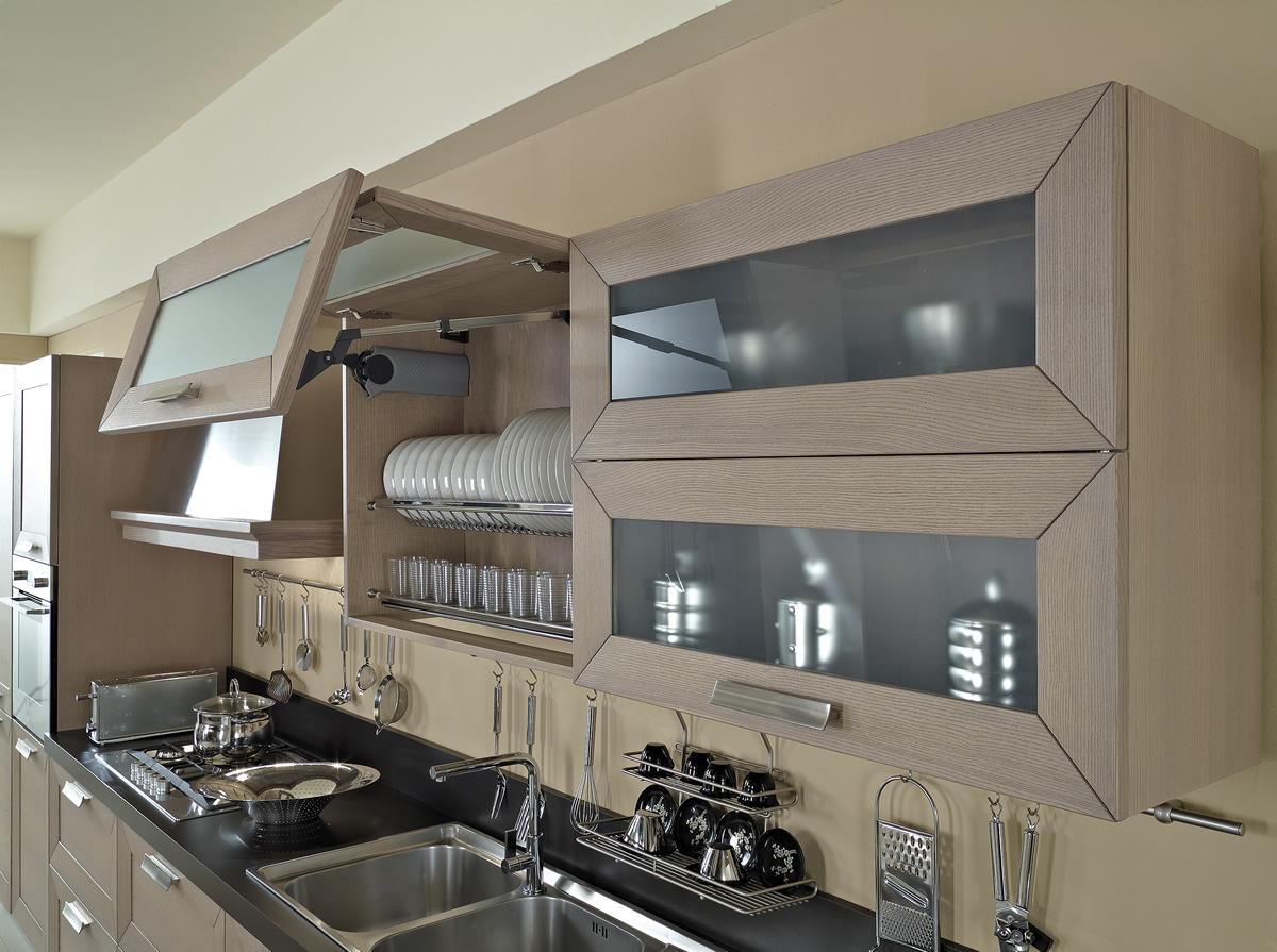 Cucine contemporanee cucina cucina trendy cucine - Pitture lavabili per cucine ...