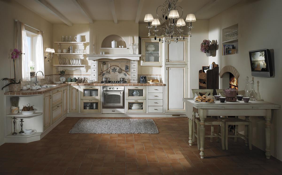 Cucine in legno massiccio massello cucina cucina iris - Cucine classiche in legno ...