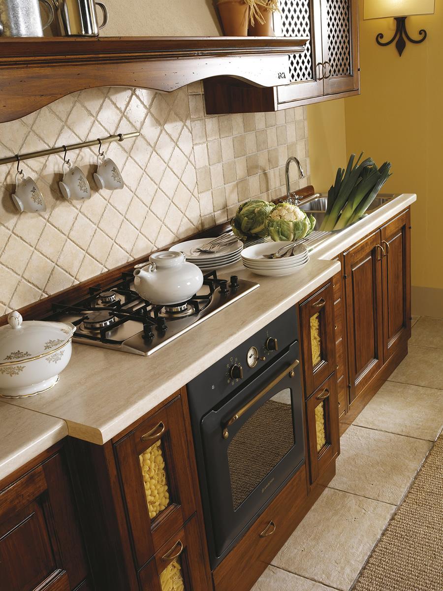 Cucine in legno massiccio massello Cucina Cucina Iris cucine ...