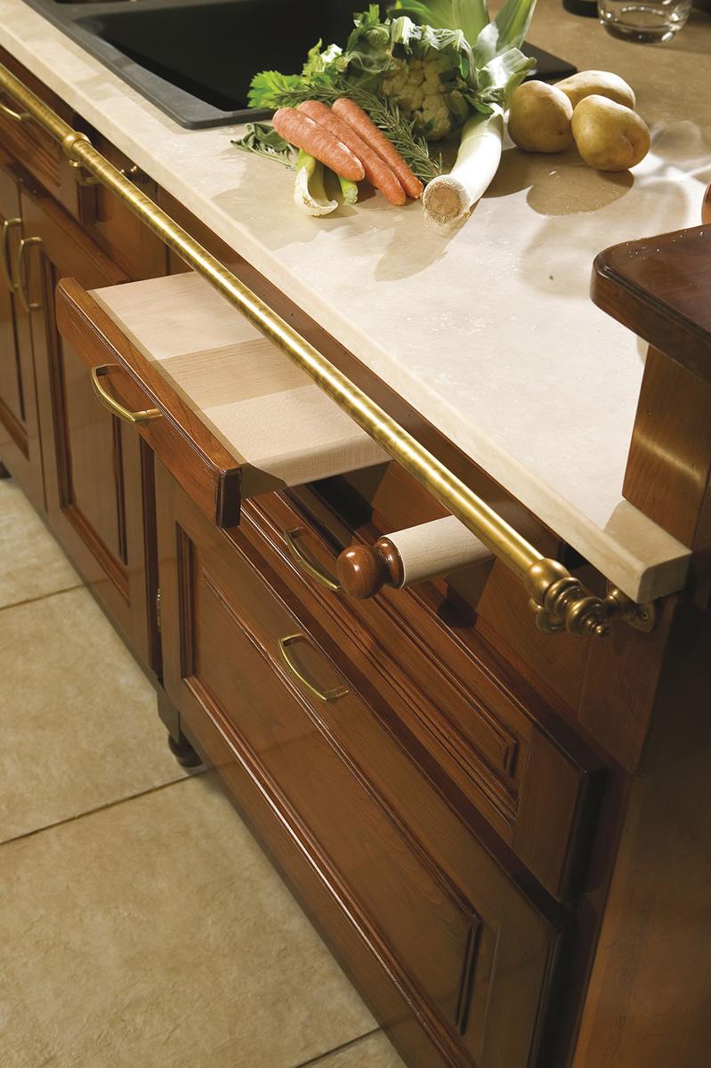 Cucine in legno massiccio massello Cucina Cucina Ginevra cucine ...