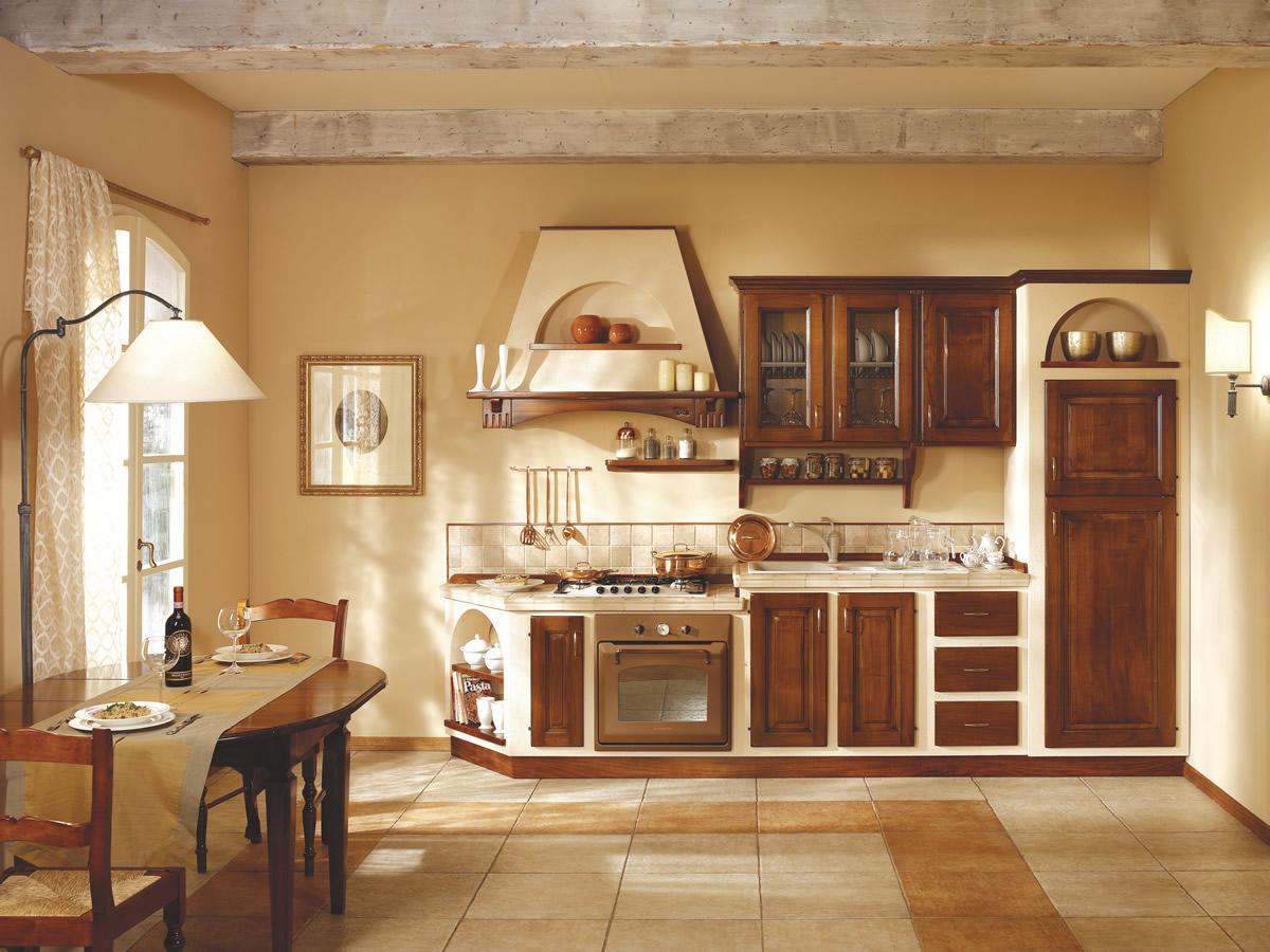Stunning immagini cucine in muratura classiche photos - Cucine in muratura ...